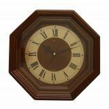 Часы настенные кварцевые Adler арт.21087 Орех